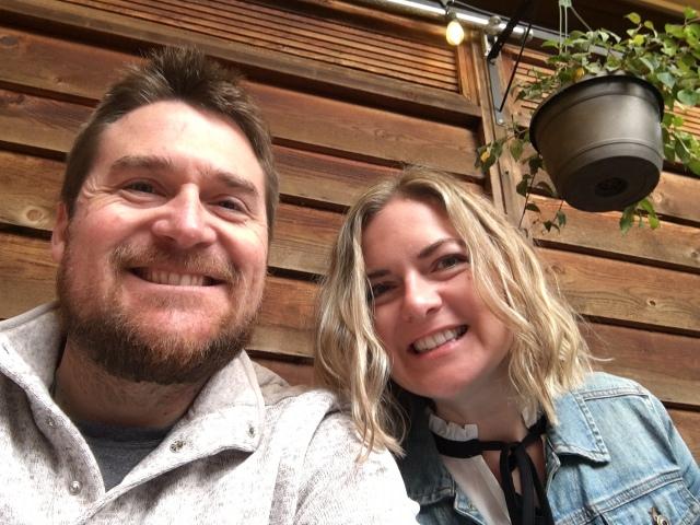 Tim and Kara in Oakland CA